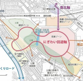 町田市が昨年6月に基本方針で示した図