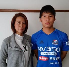 竹澤さん(左)と海音さん
