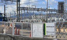 工事が始まった相模海老名駅=12月中旬撮影