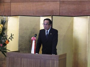 新年の抱負を語る加山市長