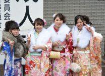式典に出席した大和市の新成人