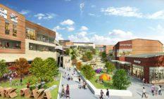 鶴間公園と隣接する新商業施設のイメージ