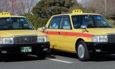 神奈中ハイヤーの復刻タクシー