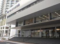 北里大学病院本館の北側にあるIPE棟
