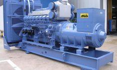 インドネシアに設置した機種と同型の発電機