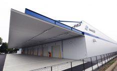 9月25日から稼働を開始した新倉庫「群馬ステーション」=群馬県太田市