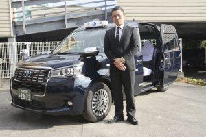 ジャパンタクシーを導入した相模交通の福本社長