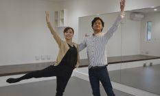 こだわりのスタジオで指導に当たるしのださん、川村さん