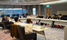 ジェトロ横浜の北條所長や一般会員も交えた会議