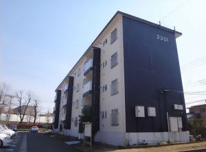 改修する棟と同じタイプの建物