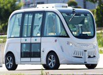 SBドライブが所有する自走運転シャトルバス