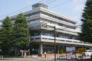 再編案に組み込まれた市役所本庁舎