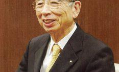 100周年を機に退任した藍澤元社長