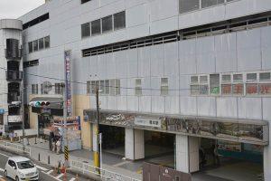 駅舎移設が計画されている京王橋本駅