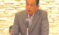 早期実現を要望した加山市長