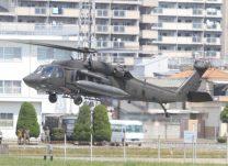 陸軍第78航空大隊所属のヘリ「ブラックホーク」