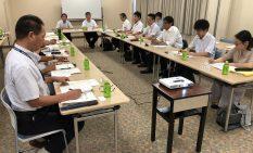 新交通導入について意見を交えた会議