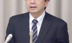 記者会見を開いた野元氏