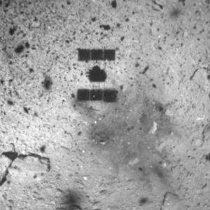 着地直後に探査機から撮影された映像