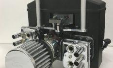 開発した無人機向けエンジン