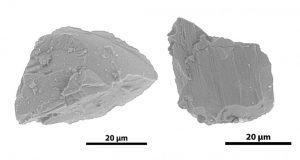 含水鉱物が発見されたイトカワの地表物質
