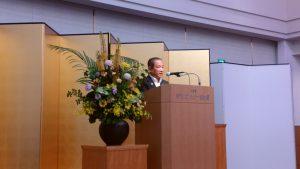 講演会に登壇した本村市長
