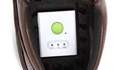 靴底に収納できるGPS端末