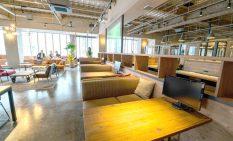 カフェのような商談スペース