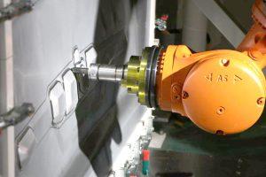 一対のロボットアームを同時制御する技術が肝