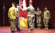 2018年10月の防空砲兵旅団の再編成式