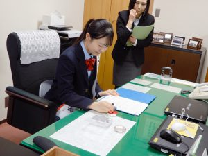東海大学付属相模原高校中等部3年の松岡さん