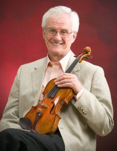 世界的なヴァイオリニスト・クリサ教授