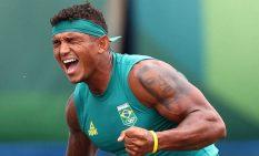 金メダルを喜ぶギマエラス選手
